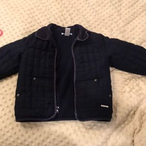 Janie and Jack Dark Navy Peacoat. Good condition.